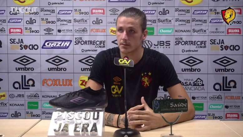 Iago Maidana projetou a partida contra o Atlético-GO pela 22ª rodada do Brasileirão. DUGOUT