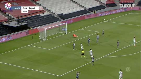 Al-Jazira drew 1-1 with Al-Dhafra. DUGOUT