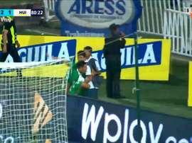 Daniel Muñoz, de 24 anos, vive sua segunda temporada no Atlético Nacional. DUGOUT