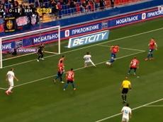 Malcom marcou dois gols no retorno do Campeonato Russo. DUGOUT