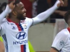 Alexandre Lacazette scored some fabulous goals at Lyon. DUGOUT