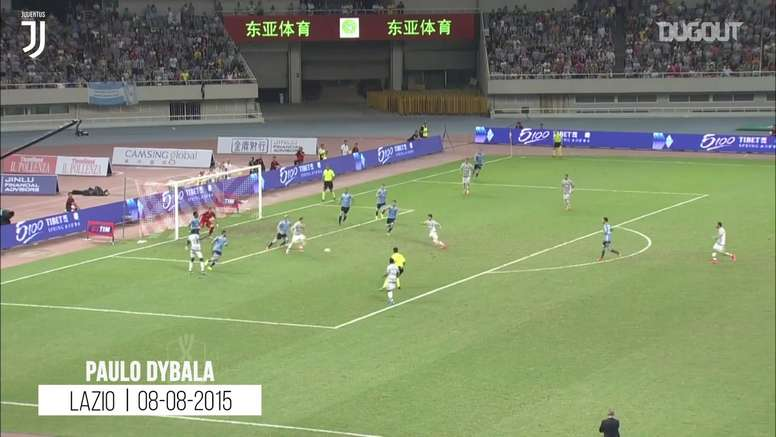 Primeiros gols na Juve: Dybala, Pogba, Chiellini, Davids e Baggio. DUGOUT