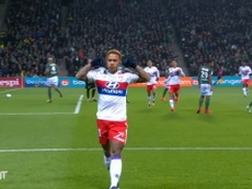 Aouar and Depay have combined many times for Lyon recently. DUGOUT