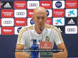 Zidane quer que Real esqueça tabela. DUGOUT