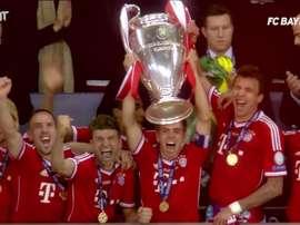 Il Bayern vince la Champions. Dugout