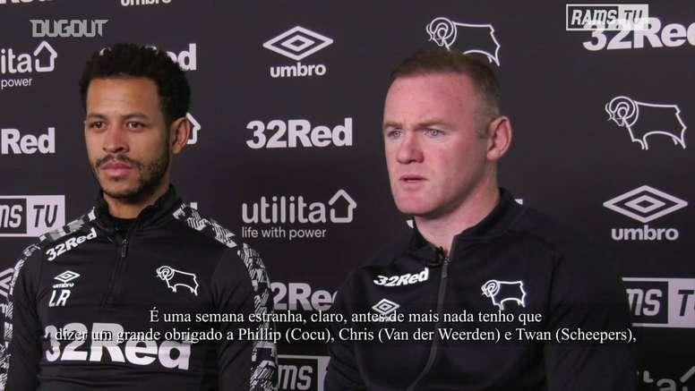 Além de atacante, Wayne Rooney deve ser o novo técnico do Derby County. DUGOUT