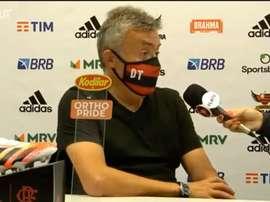 Flamengo foi derrotado pelo Atlético-MG por 1 a 0 no Maracanã. DUGOUT