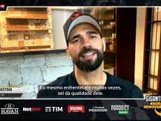 Leandro Castán comentou a indefinição de Fredy Guarín no Vasco da Gama. DUGOUT