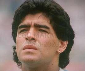 Maradona dio sus mejores años futbolísticos en el Nápoles. DUGOUT