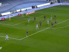 Ter Stegen made plenty of top saves as Barca beat Sociedad on penalties. DUGOUT