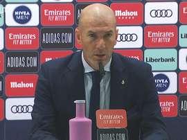 As palavras de Zidane após derrota para o Cádiz. DUGOUT