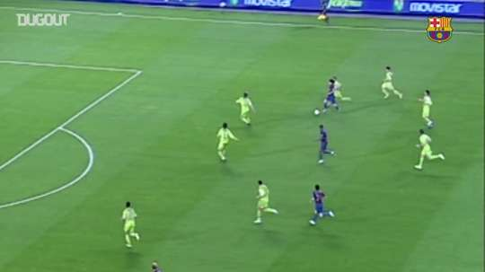 Il gran goal di Messi al Getafe. Dugout