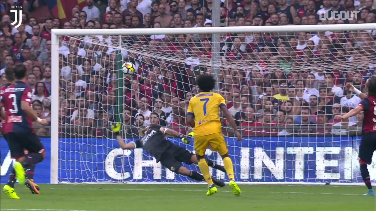 Buffon breaks record in Juve win, Ronaldo scores from free kick