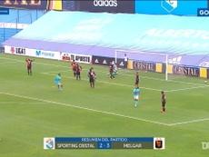 El jugador de Sporting Cristal anotó un auténtico golazo. DUGOUT