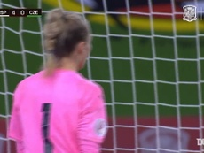 Alexia firmó el 4-0 con un tremendo golazo. DUGOUT