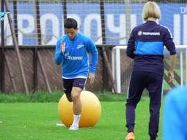 Lo Zenit ritorna in campo. Dugout