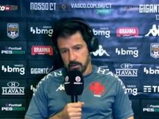 Ramon Menezes comentou sobre a atuação do jovem Talles Magno, que marcou gol e foi expulso. DUGOUT
