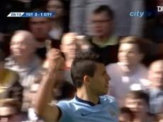Mejores goles del Manchester City en visitas al Tottenham. Captura/DUGOUT