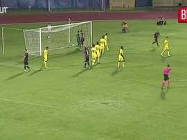 Tomiyasu segna il primo goal. Dugout