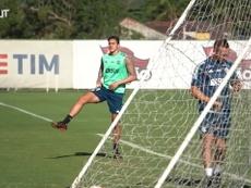 Flamengo inicia preparação para Libertadores contra o Racing. DUGOUT