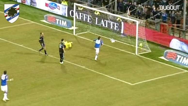 Cassano anotó 42 goles en 140 partidos con la Sampdoria. DUGOUT