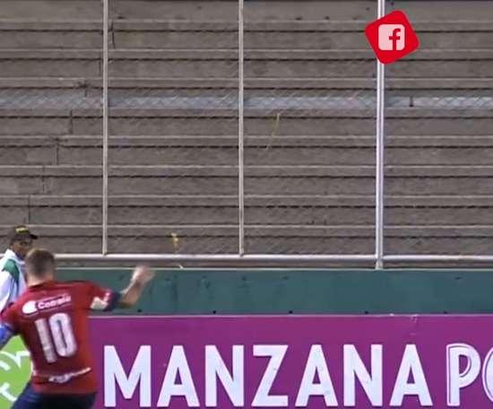 Quintero scored for Medellín. DUGOUT