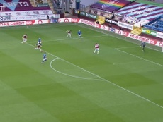 Aaron Connolly gave Brighton victory at Burnley with his goal. DUGOUT