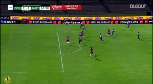 Córdova scored for América. DUGOUT