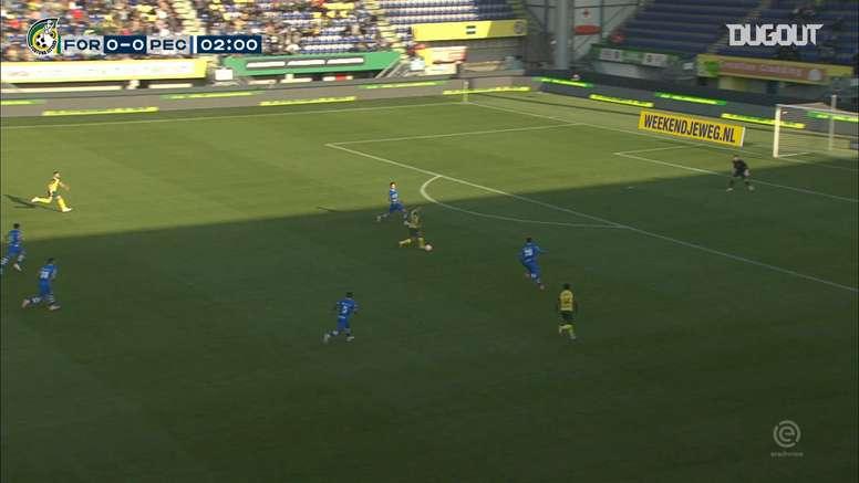 Fortuna Sittard beat Zwolle 3-0 back in November 2018. DUGOUT
