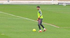 High-intensity training ahead of El Clásico. DUGOUT