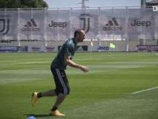 Juventus continua preparação para volta da Serie A. DUGOUT