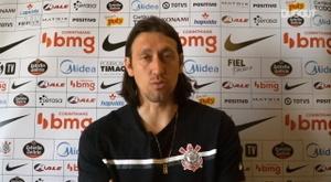 Cássio vê Vagner Mancini como o grande responsável pela melhora do Corinthians. DUGOUT