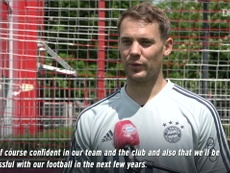 VIDEO: Manuel Neuer discusses his new Bayern contract. DUGOUT