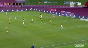 Spain women's amazing four goals against the Czech Republic. DUGOUT