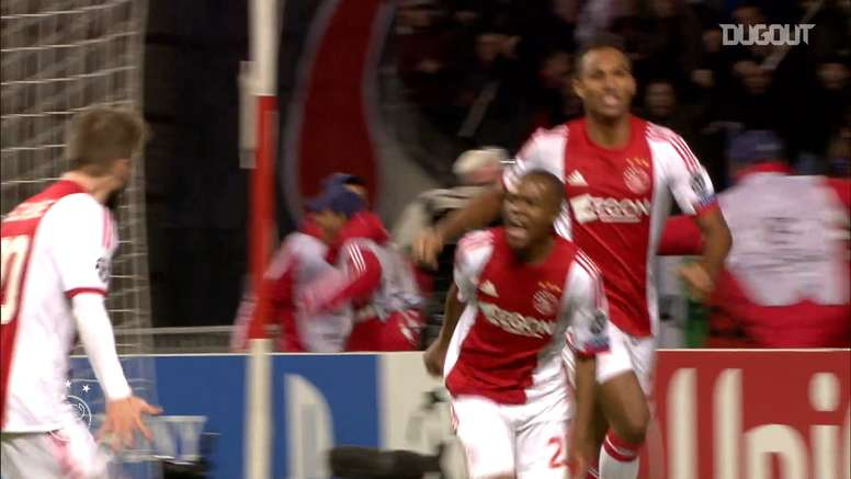 Ajax beat Barcelona in the Champions League group stage in 2013. DUGOUT