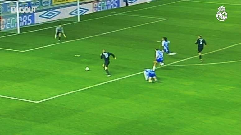 Ronaldo Nazário hat-trick vs Alavés. DUGOUT