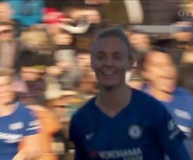 Sophie Ingle's outrageous goal vs Arsenal. DUGOUT