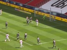 VIDEO: Potters edge closer to safety with crucial Birmingham win. DUGOUT