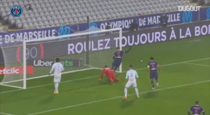 PSG were 2-1 winners over Marseille in the French Super Cup. DUGOUT