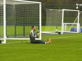 VIDÉO: Tottenham prépare le match de Liverpool. Dugout