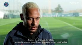 Neymar se rindió ante Maradona. DUGOUT