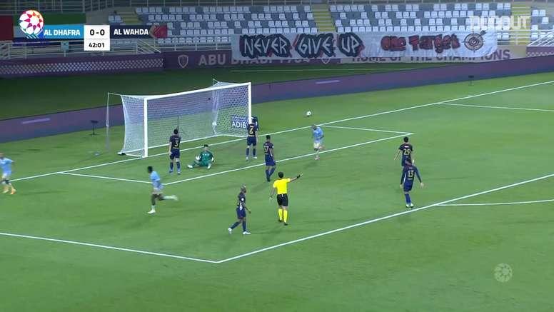 Al Wahda and Al Dhafra got a point in the UAE league. DUGOUT