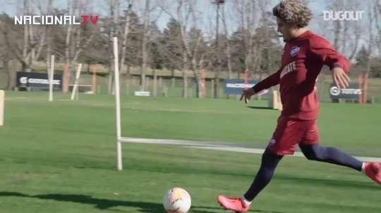 Felipe Gedoz se une a Nacional. DUGOUT