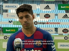Suárez was back on the scoresheet. DUGOUT
