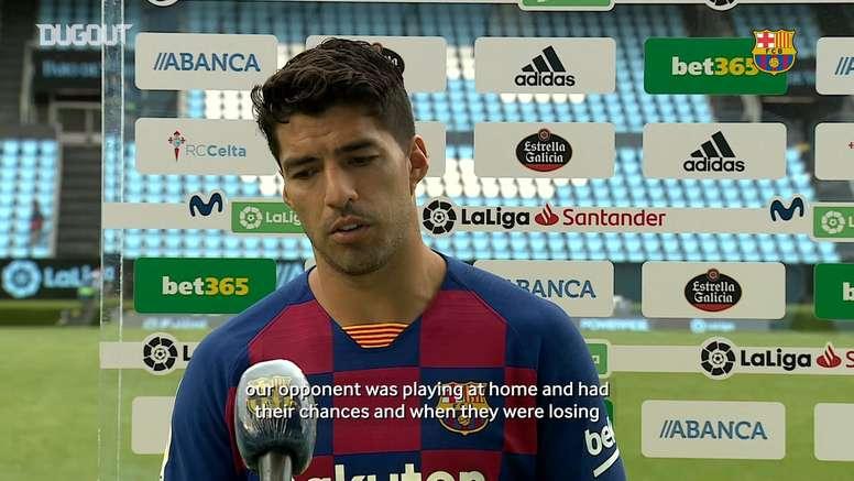 Suárez was back on the scoresheet. DUGOUT