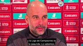 Guardiola subrayó la importancia que tiene cada partido para el City. Captura/DUGOUT