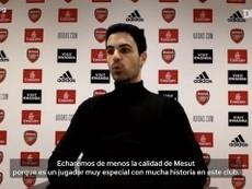 Arteta habló sobre el inminente traspaso de Özil. DUGOUT