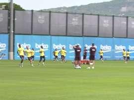 Dembélé volta a treinar no Barça antes de decisão na Champions. DUGOUT