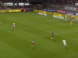 Karim Benzema's final Lyon goal came in 2009. DUGOUT