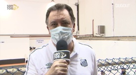 Orlando Rollo, que estava em exercício, foi empossado como presidente do Santos. DUGOUT